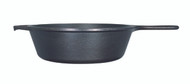 "Cast Iron Deep 10.25"" Skillet"