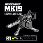 BrickArms Mk19 Grenade Launcher + M3 Tripod