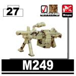 M249 - Desert digital camouflage