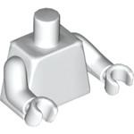 Lego Torso Plain White