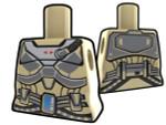 Torso Tan with Armor Pattern
