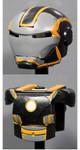 Clone Army Customs MK Grid Orange Helmet & Armor