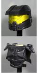 Clone Army Customs Orbital Helmet & Armor - Black