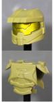 Clone Army Customs Orbital Helmet & Armor - Olive Green