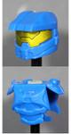 Clone Army Customs Orbital Helmet & Armor - Blue