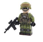 Custom Minifigure - FBI Agent