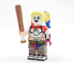Custom Minifigure - Harley Quinn