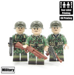 Custom Minifigure - WW2 USMC Team