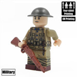 Custom Minifigure - WW1 American Soldier