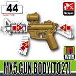 SI-DAN Dark Tan MX5 Gun Body (TO27)