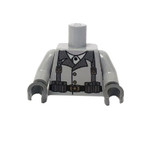 Custom Printed Lego Minifigure Torso - WWII Rifleman Soldier