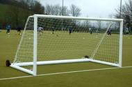 Samba Aluminium FREESTANDING Mini Soccer goals 12ft x 6ft