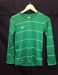 Nike Boys Pin Striped Jersey - Green/White - XSmall