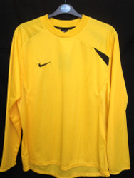 Nike Mens Dynamic Jersey - Yellow - Large