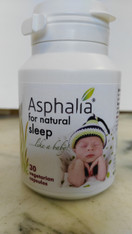Asphalia 30 veg caps for natural sleep