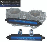 FIC STi ('04 - '06) Top Feed Conversion Fuel Rails with -6AN End Fittings
