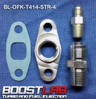 BL T3/T4 Frame Turbo Oil Fitting Kit (Standard NPT Drain Flange)
