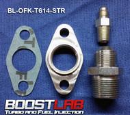 BL T6/Large Frame Turbo Oil Fitting Kit (Srandard NPT Drain Flange)