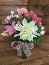 """Dahlia Delight"" Vase"