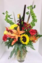 """Amazing Autumn"" vase"