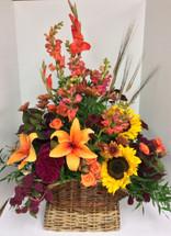 Autumn Flemish basket