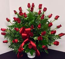 3 Dozen Premium Rose Traditional Arrangement