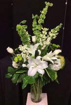Classic Elegance Vase in Creams and Whites