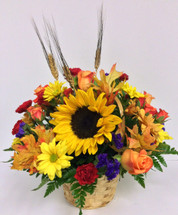 Sunflower Basket Centerpiece