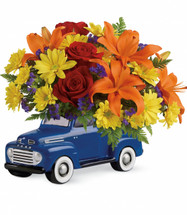 Vintage Ford 48 Pickup Bouquet