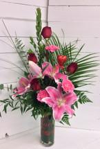 Fresh Love Beautiful Vase Arrangement