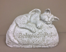 """Beloved Pet"" Cat Statue"