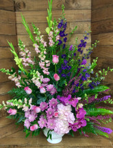 """Purple and Pink Passion"" Celebration Arrangement"