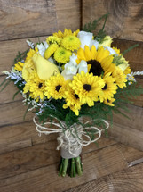 """Golden Country"" Bridal Bouquet"