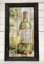 "29"" by 16"" watercolor look wine sign - Chardonnay"