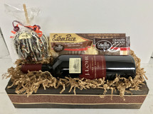Esther Price Chocolate Dipped Apple & J. Lohr Gift Box