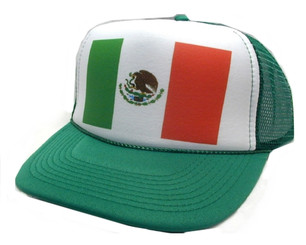 As shown in photo then color of the hat . ex.Green/White front