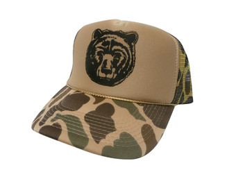 As shown in photo Camo/tan front