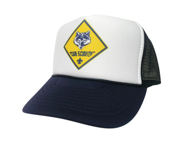 As shown in photo Navy/White front