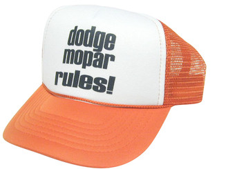 As shown in photo then color of the hat Orange/white front