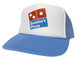 As shown in photo then color of the hat Columbia Blue/white front