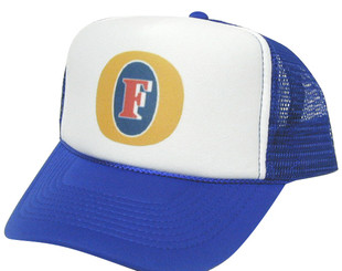 As shown in photo then color of the hat . ex. Blue/white front