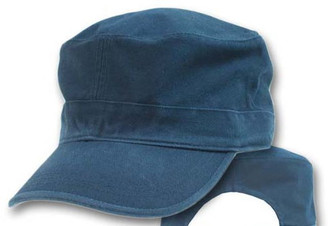 Navy cotton Military cap fatigue hat cadet hat
