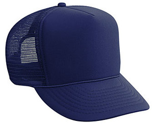 Navy Blue plain blank Trucker Hat Mesh Hat Snapback Hat