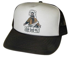 As shown in photo then color of the hat . ex. Brown/white front
