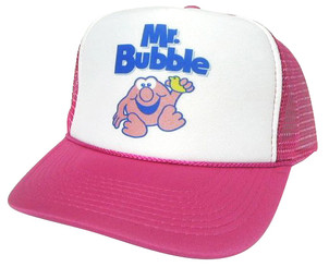 As shown in photo then color of the hat . ex. Pink/white front