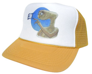 As shown in photo then color of the hat yellow/ white front