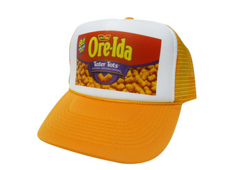 As shown in photo then color of the hat . ex.Orange/white front