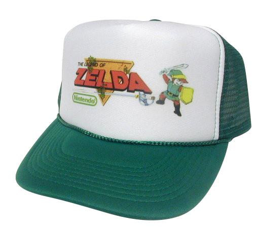 70843c5b0 Legend of Zelda Trucker hat mesh hat snapback hat