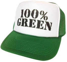 As shown in photo Green/White front
