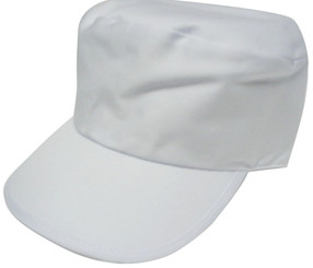 White Painters cap hat